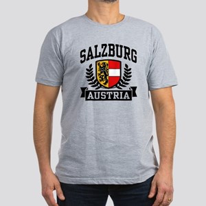 Salzburg Austria Men's Fitted T-Shirt (dark)