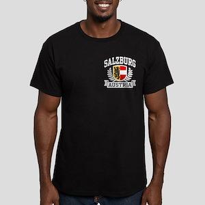 Salzburg Austria Men's Fitted T-Shirt (dark)