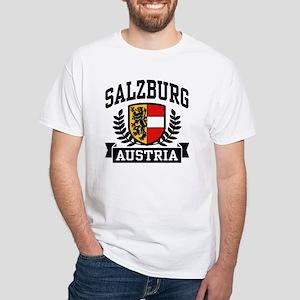 Salzburg Austria White T-Shirt