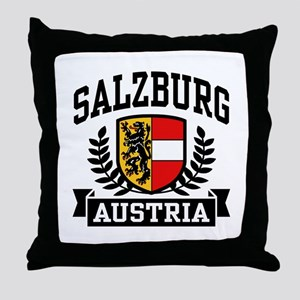 Salzburg Austria Throw Pillow