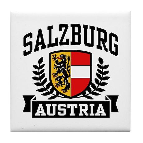 Salzburg Austria Tile Coaster