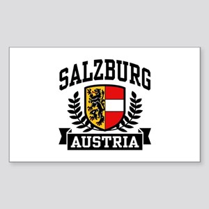 Salzburg Austria Sticker (Rectangle)
