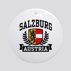 Salzburg Austria Ornament (Round)