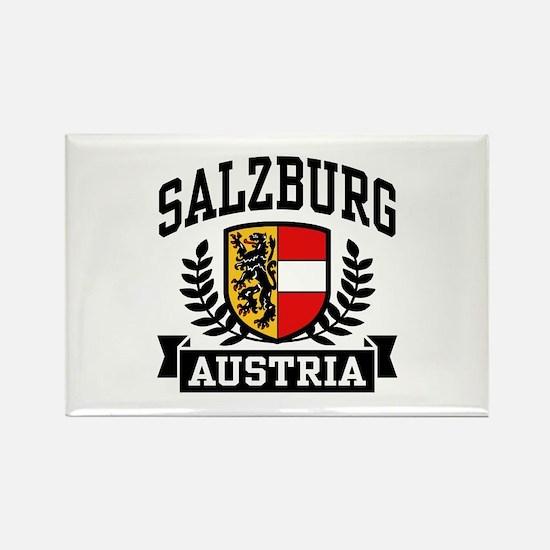 Salzburg Austria Rectangle Magnet