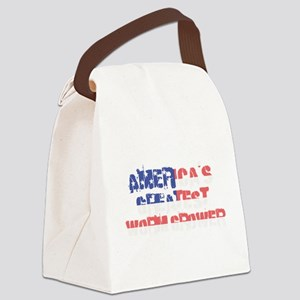 America's Greatest Worm Grower Canvas Lunch Bag