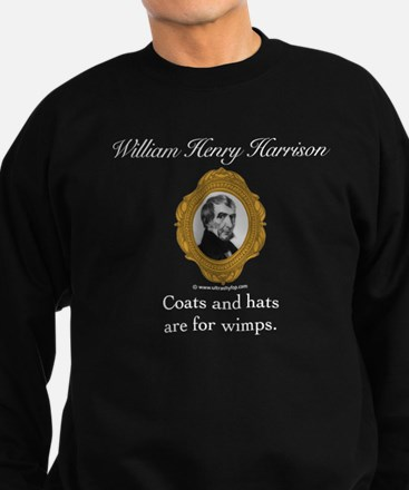 William Henry Harrison Sweatshirt (dark)