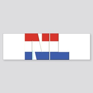 Netherlands / Holland Sticker (Bumper)