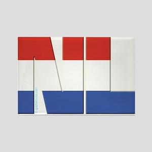 Netherlands / Holland Rectangle Magnet