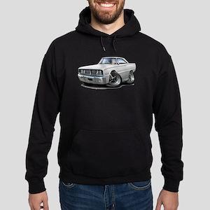 1966 Coronet White Car Hoodie (dark)