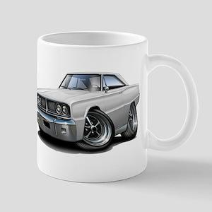 1966 Coronet White Car Mug