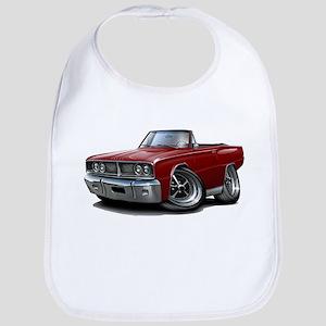 1966 Coronet Maroon Convert Bib