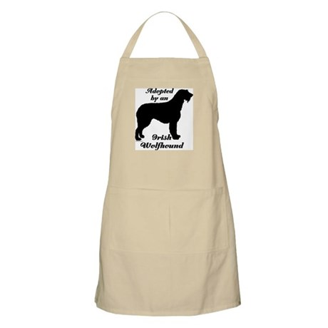 ADOPTED by Irish Wolfhound BBQ Apron