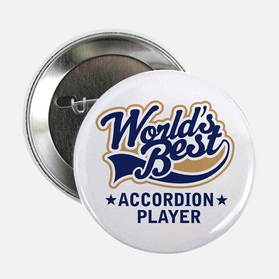 """Worlds Best Accordion Player 2.25"""" Button"""