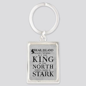 Bear Island King In The North Keychains