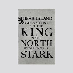 Bear Island King In The North Magnets
