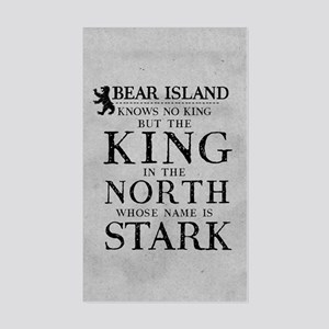 Bear Island King In The North Sticker