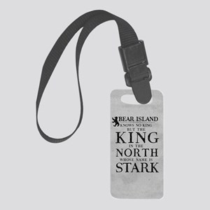 Bear Island King In The North Luggage Tag