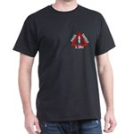 Pass Safely Front And Back Dark T-Shirt