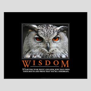 Wisdom Small Poster