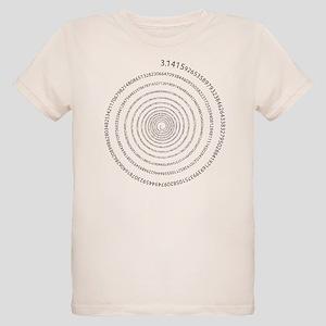 Pi Spiral Organic Kids T-Shirt