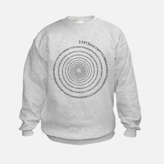 Pi Spiral Sweatshirt