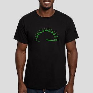 Speed Men's Fitted T-Shirt (dark)