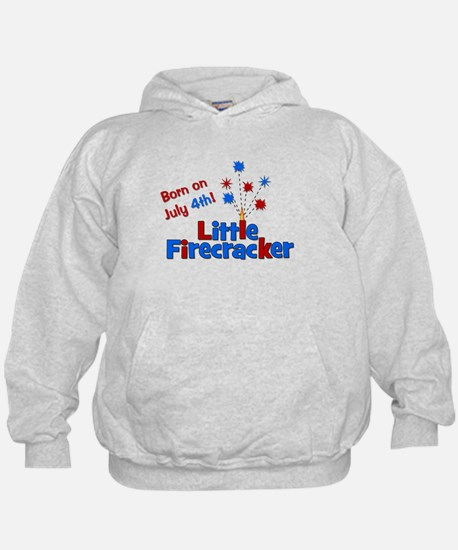 Born on July 4th Little Firec Hoodie
