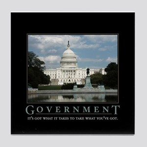 Government Tile Coaster