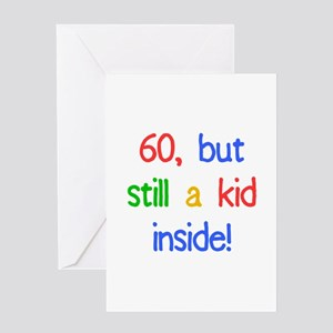 Fun 60th Birthday Humor Greeting Card