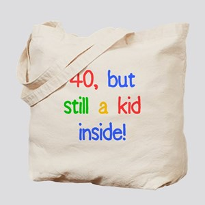 Fun 40th Birthday Humor Tote Bag