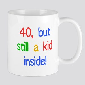 Fun 40th Birthday Humor Mug