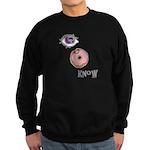 I Donut Know Sweatshirt (dark)