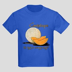 Cantaloupe Humor Kids Dark T-Shirt