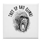 Shut Up and Climb! Tile Coaster