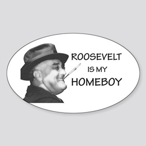 FDR Homeboy Sticker (Oval)
