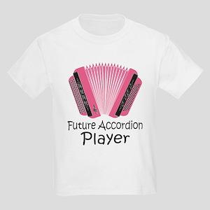 Future Accordion Player Kids Light T-Shirt