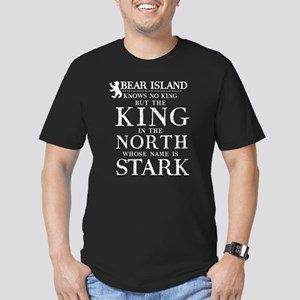 Mormont Here We Stand Men's Fitted T-Shirt (dark)