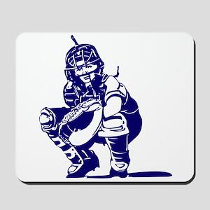 CATCHER *1* {blue} Mousepad