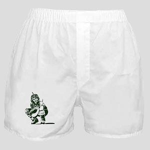 CATCHER *1* {dk green} Boxer Shorts