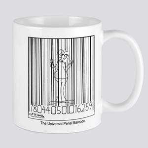 Universal Penal Barcode Mug