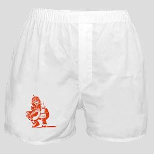 CATCHER *1* {orange} Boxer Shorts
