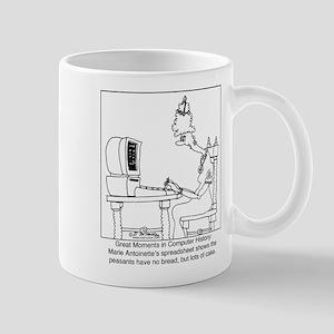Marie Antoinette's spreadsheet Mug