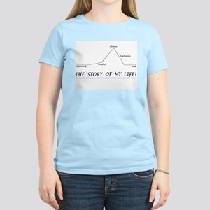 """""""The Story of my Life"""" Women's Light T-S"""