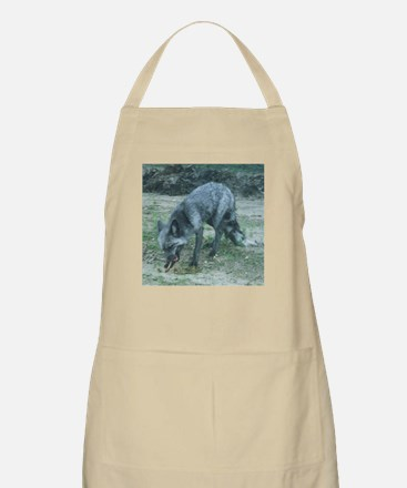 Silver Fox Chewing Apron