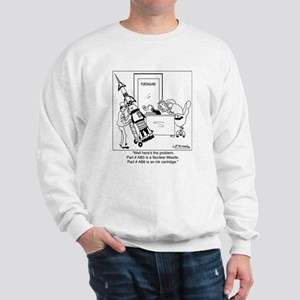 Part #AB5 Missile or Ink Cartridge Sweatshirt