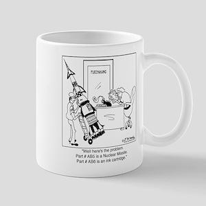Part #AB5 Missile or Ink Cartridge Mug