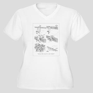 Tennis Women's Plus Size V-Neck T-Shirt