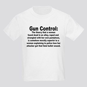 Gun Control Kids Light T-Shirt
