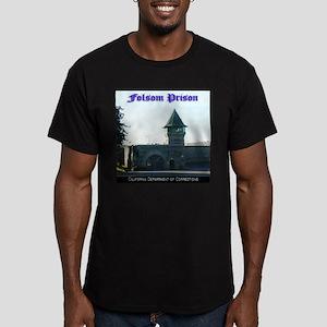 Folsom Prison Men's Fitted T-Shirt (dark)