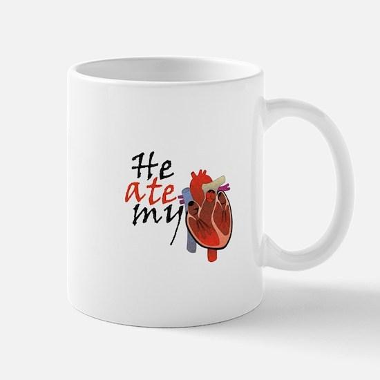 He Ate My Heart Mug